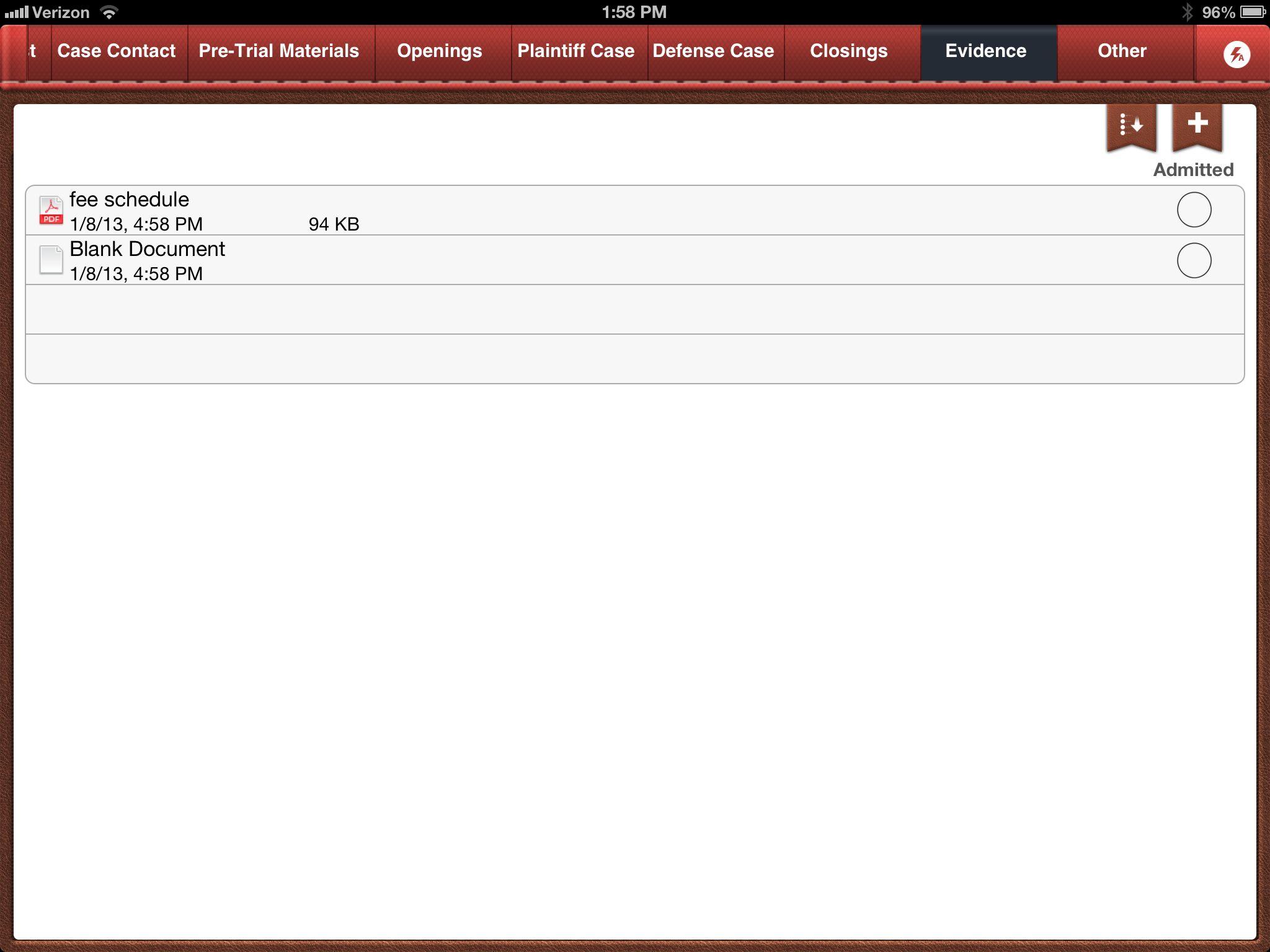 Trial Notebook iPad App – Review   MacLitigator
